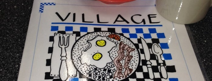 Village Inn Cafe is one of Tempat yang Disukai Katherine.