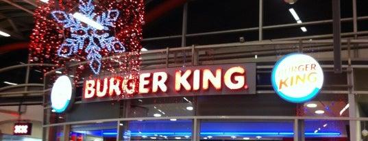 Burger King is one of Orte, die Kevin gefallen.