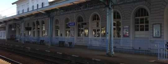 Gare SNCF de Sélestat is one of Locais curtidos por Amit.