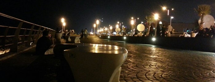 Corniche Walk is one of Jeddah, The Bride Of The Red Sea.