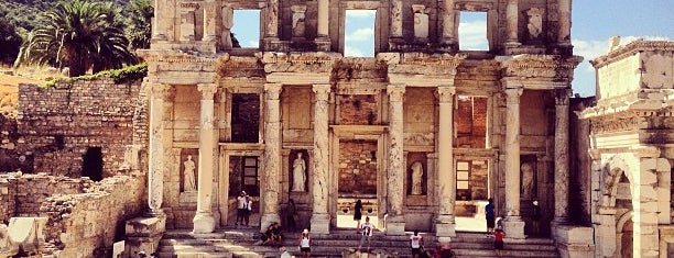 Library of Celsus is one of World Heritage Sites List.