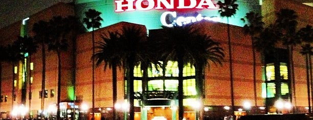 Honda Center is one of Hockey Arenas!.