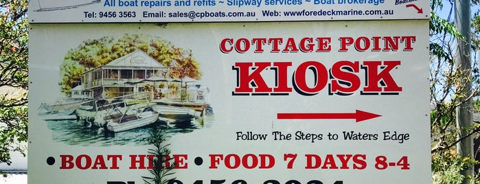 Cottage Point Kiosk is one of Australia bucket list.