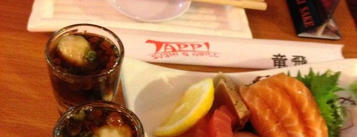 Tappi Sushi is one of สถานที่ที่บันทึกไว้ของ Ray.