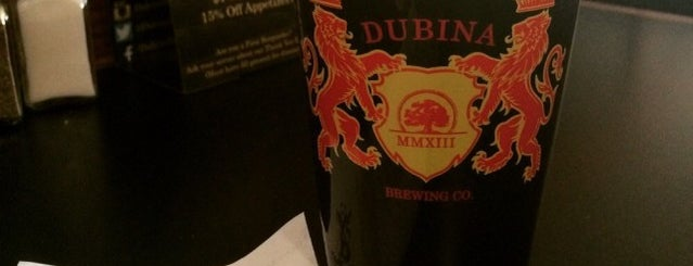 Dubina Brewing Co. is one of Drinks.