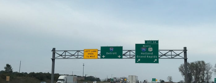 I-94 & I-196 / US-31 is one of Indiana.