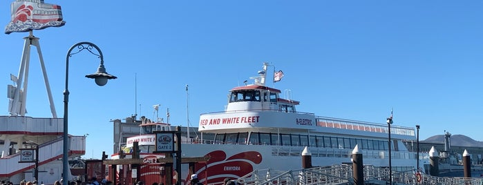 Red & White Fleet is one of San Francisco.