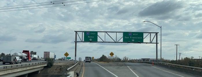 I-80 / I-5 Interchange is one of roads.