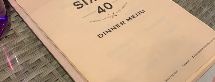 Sixty 40   Bar • Café is one of Micheenli Guide: Top 20 Around Buona Vista.