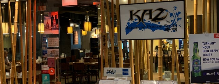 KAZ Japanese Fusion Sushi is one of Project #2 singa.