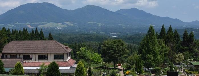 蒜山ハーブガーデン is one of Orte, die Shigeo gefallen.