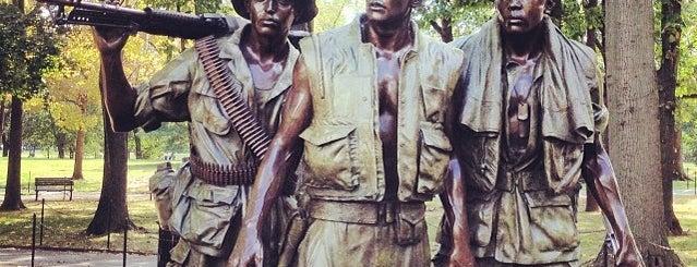 Vietnam Memorial is one of Locais salvos de Steena.