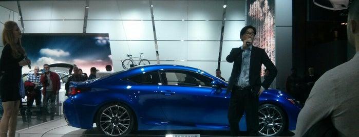 Toyota - 2014 NAIAS is one of Tempat yang Disukai Nate.
