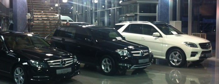 Has Otomotiv / Mercedes-Benz is one of Hulya 님이 좋아한 장소.