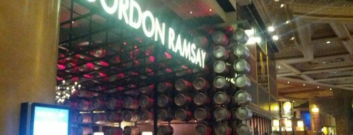 Gordon Ramsay Pub & Grill is one of Las Vegas.