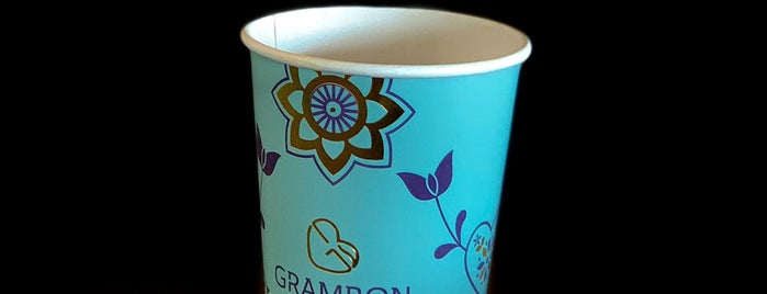 Grambon Cafe is one of Lugares favoritos de Omar.