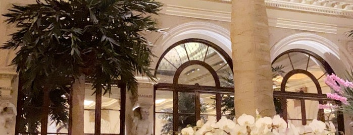 The Palm Court at The Plaza is one of NYC.
