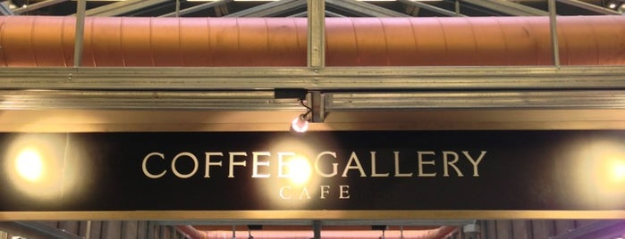 Coffee Gallery is one of Lugares favoritos de First.