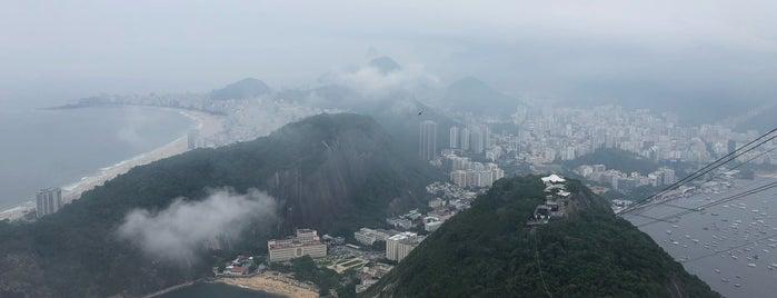 Pão de Açúcar (Sugarloaf Mountain) is one of Rio de Janeiro.