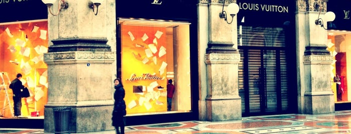 Louis Vuitton is one of Italy wannado.