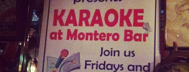 Montero Bar & Grill is one of by necessity, not necessarily by choice (1 of 2).