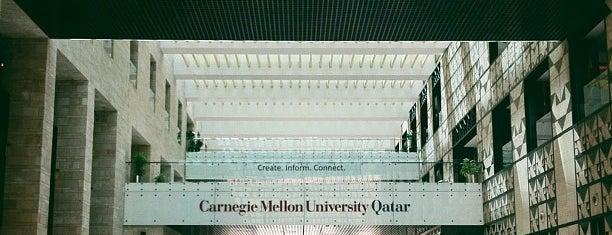 Carnegie Mellon University in Qatar is one of Orte, die maryam gefallen.