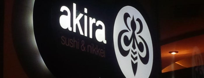 Akira Sushi&Nikkei is one of emiborba : понравившиеся места.