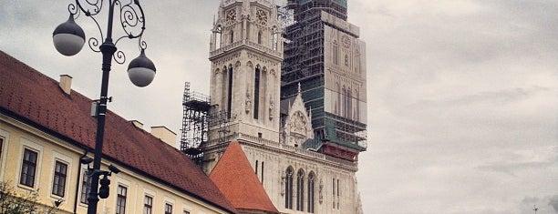 Zagrebačka katedrala   Cathedral is one of Follow the Orient Express — Şark Ekspresi.