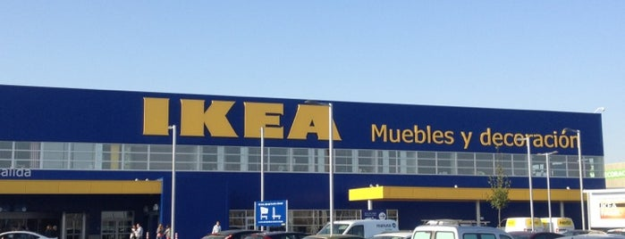 IKEA is one of bebe friendly valladolid.