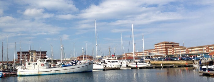 Hartlepool Marina is one of Lugares favoritos de Carl.