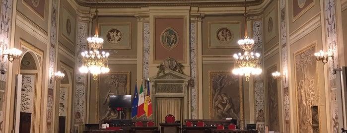 Sala Gialla. Palazzo dei Normanni is one of SICILIA - ITALY.