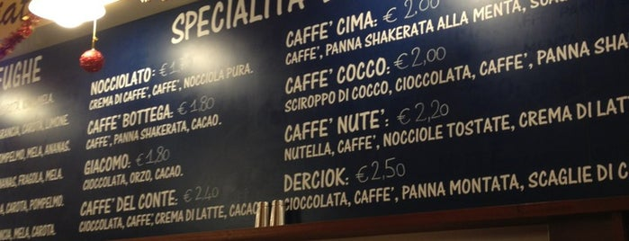 Bottega del Caffè Dersut is one of Lugares favoritos de Káren.