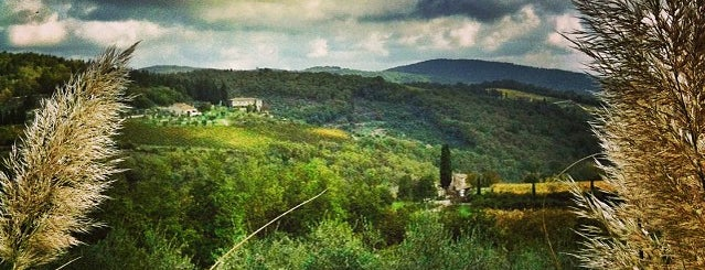 Castellina in Chianti is one of Toscana!.