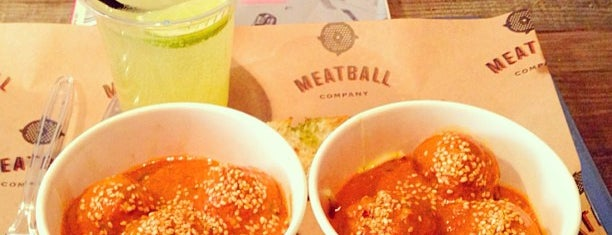 Meatball Company is one of Restaurants and cafes.