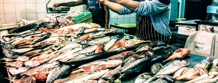 Mercato del pesce-Fish market is one of Sicily.