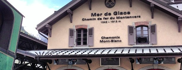 Gare Montenvers Mer de Glace is one of Switzerland 2014.