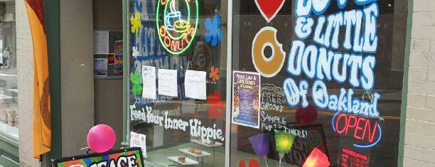Peace Love and Little Donuts is one of Favorite place's.