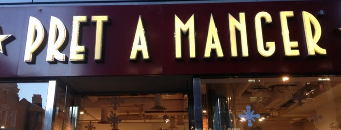 Pret A Manger is one of สถานที่ที่ Dan ถูกใจ.