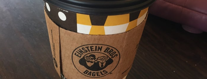 Einstein Bros Bagels is one of Restaurants.