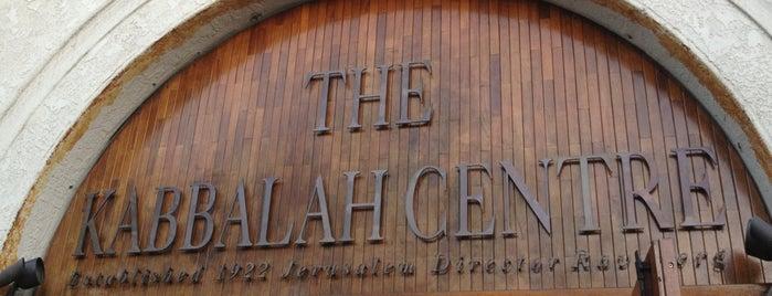 Kabbalah Centre is one of สถานที่ที่ Brett ถูกใจ.