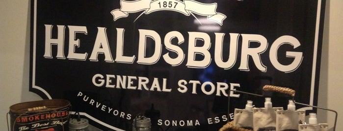 Healdsburg General Store is one of Wine Country List.