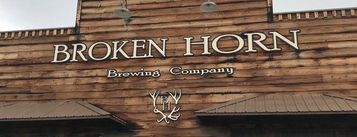 Broken Horn Brewing Co. is one of Kenan 님이 저장한 장소.