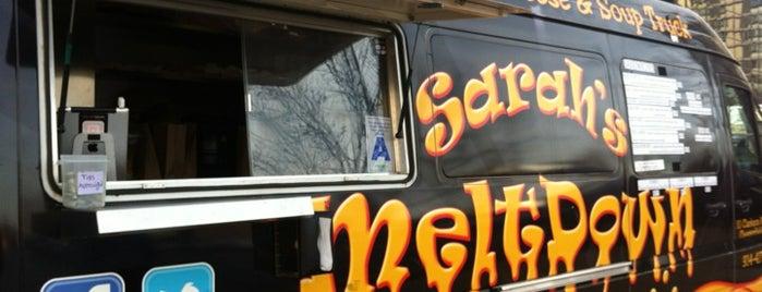 Sarah's Meltdown is one of Saint Louis Food Trucks.