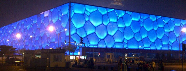 National Aquatic Center (Water Cube) is one of Sports Venues.