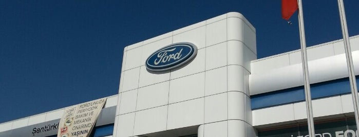 Ford Şentürkler is one of Tempat yang Disukai Saaaa.