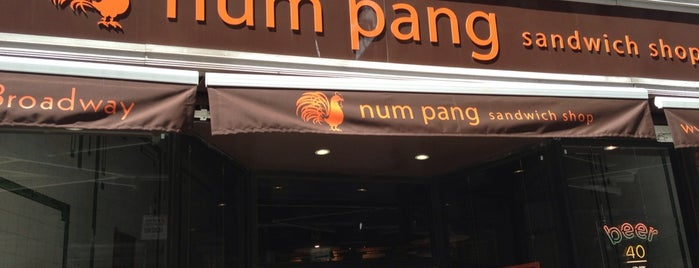 Num Pang Sandwich Shop is one of Places to Enjoy a Tiger Beer!.