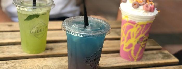 Bubblin Bubble Waffle & Beverage is one of Damak Tadı.