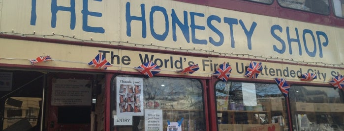 The Honesty Shop is one of England.