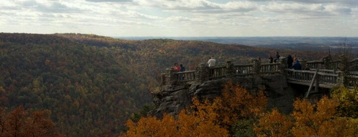 Coopers Rock State Forest is one of Priority date places.