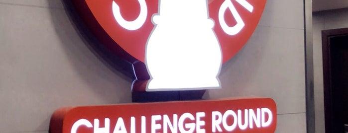 Challenge Round is one of Orte, die Sharaf gefallen.